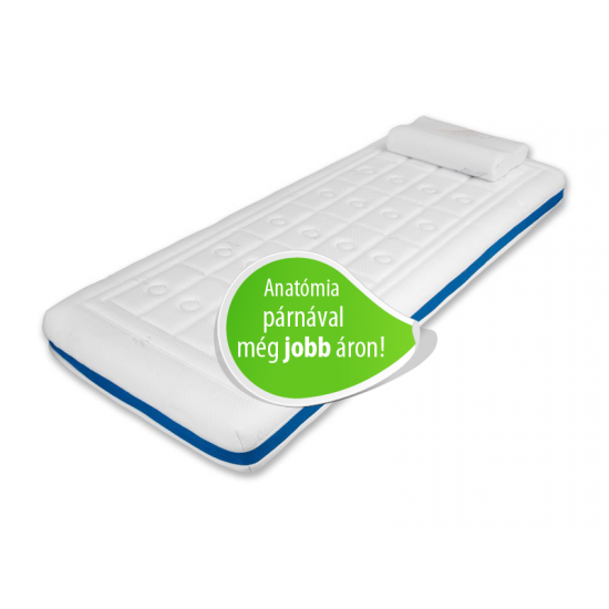 Memory Duet Plus matrac csomag (MemoClassic anatómia párnával) - 140x200 cm